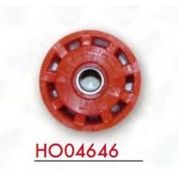 UFO CHAIN TENSIONER WHEEL WITH BEARINGS FOR HONDA CRF 250 R 2010/2011, CRF 450 R 2009/2011