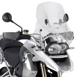 SLIDING WINDSHIELD GIVI FOR BMW R 1200 GS 2004/2012, TRANSPARENT
