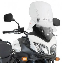 SLIDING WINDSHIELD GIVI FOR SUZUKI V-STROM 650 2012/2016, TRANSPARENT