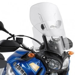 GIVI SLIDING WINDSHIELD FOR YAMAHA XT 1200 Z SUPER TENERE 2010/2020, TRANSPARENT
