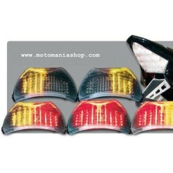 LED TAILLIGHT WITH CLEAR SMOKE LENS FOR SUZUKI BANDIT 1250/S 2007/2010