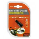 ADATTATORE PER SPECCHIETTI MOTO NAKED (da filetto M10 DX a filetto M10 SX)