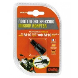MIRROR ADAPTER FOR NAKED MOTORCYCLES (from thread M10 RH to thread M10 SX)
