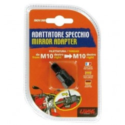 MIRROR ADAPTER FOR NAKED MOTORCYCLES (from thread M10 DX to thread M10 DX)