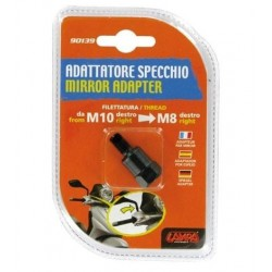 MIRROR ADAPTER FOR NAKED MOTORCYCLES (from thread M10 DX to thread M8 DX)