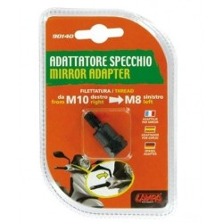 MIRROR ADAPTER FOR NAKED MOTORCYCLES (from thread M10 RH to thread M8 SX)