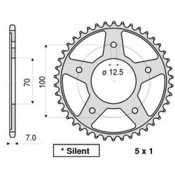 STEEL REAR SPROCKET FOR CHAIN 525 FOR BMW HP4 2013/2014