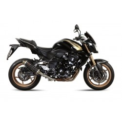 CARBON GP MIVV EXHAUST TERMINAL FOR KAWASAKI Z 750 R 2011/2012, APPROVED