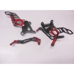 ADJUSTABLE REAR SETS 4-RACING FOR MV AGUSTA F3 675 2012/2019, F3 800 2013/2019 (standard and reverse shifting)