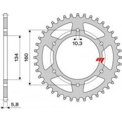 ERGAL SPROCKET FOR CHAIN 520 FOR HONDA CBR 954/929 RR, VTR 1000 SP1/SP2, CBR 600 F/SPORT