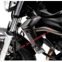 CARBON FIBER RADIATOR COVER FOR YAMAHA FZ6 S2 2007/2013