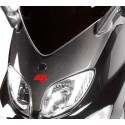 FRONT SHIELD WITH HOLES FOR CARBON FIBER REAR-VIEW MIRRORS FOR YAMAHA T-MAX 2000/2007