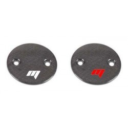 PAIR OF CARBON FIBER ENGINE COVER FOR YAMAHA T-MAX 2000/2011, T-MAX 530 2012/2014