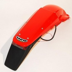 ENDURO REAR FENDER UFO WITH LICENSE PLATE/STOP LIGHT FOR HONDA CRF 450 R 2002/2004