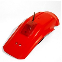 PARAFANGO POSTERIORE CON LUCE TARGA/STOP UFO PLAST PER HONDA XR 600 R 2000/2001