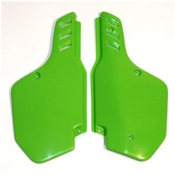 UFO LATERAL NUMBER SIDE PANELS AS ORIGINAL FOR KAWASAKI KX 500 2000/2002