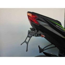 ADJUSTABLE ALUMINUM LICENSE PLATE HOLDER FOR KAWASAKI ZX-6R 600 2013