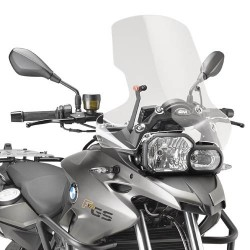 WINDSHIELD GIVI FOR BMW F 700 GS 2013/2017, TRANSPARENT
