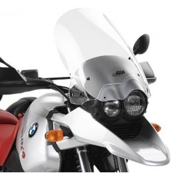 GIVI CUPOLINO FOR BMW R 1150 GS 2000/2003, TRANSPARENT