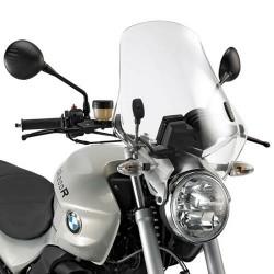 CUPOLINO GIVI PER BMW R 1200 R 2006/2010, TRASPARENTE