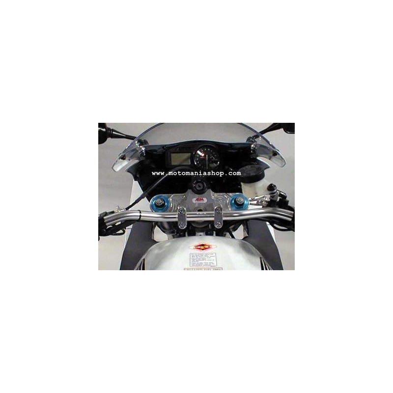 STEERING PLATE WITH RISER FOR HIGH HANDLEBAR TRANSFORMATION FOR SUZUKI GSX-R 600/750 2004/2005