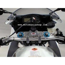 STEERING PLATE WITH RISER FOR HIGH HANDLEBAR TRANSFORMATION FOR SUZUKI SV 650 S 2003/2009