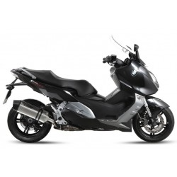 MIVV SPEED EDGE EXHAUST TERMINAL IN STAINLESS STEEL CARBON BASE FOR BMW C 600 SPORT 2012/2015, APPROVED