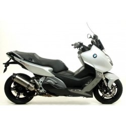 ARROW RACE-TECH ALUMINUM EXHAUST PIPE CARBON BASE FOR BMW C 600 SPORT 2012/2015, APPROVED