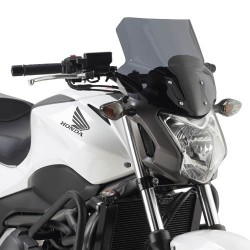 WINDSHIELD GIVI FOR HONDA NC 700 S 2012/2013, NC 750 S 2014/2015, SMOKE