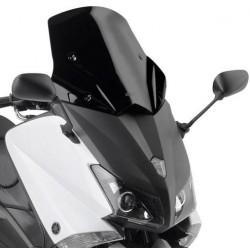 WINDSHIELD GIVI FOR YAMAHA T-MAX 530 2012/2014, GLOSS BLACK
