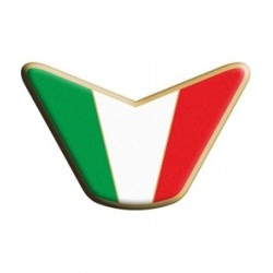 3D STICKER ITALY FLAG TRIM VERSION MODEL 1 mm 85x55