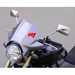WINDSCREEN FABBRI TOURING FOR HONDA HORNET 600 2005/2006, CHROME TITANIUM