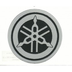 ADHESIVE PATCH IN COAT OF ARMS YAMAHA DIAPASON DIAMETER MM 65