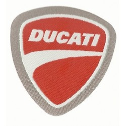 ADHESIVE PATCH IN EMBOSSED DUCATI FABRIC mm 60x63