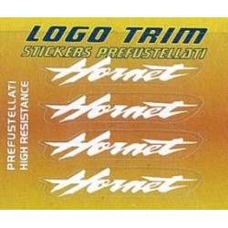 """ADHESIVE SET TRIM SERIES WITH """"HORNET"""" LOGO, WHITE COLOR h 5 mm"""