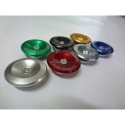 PAIR OF EXTERNAL ERGAL RING NUTS FOR 4-RACING BUFFERS