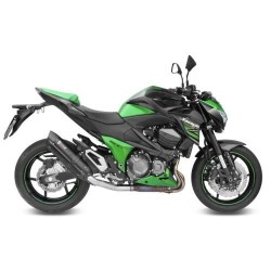 BLACK SOUND MIVV EXHAUST TERMINAL WITH CARBON BACK FOR KAWASAKI Z 800 2013/2016, APPROVED