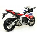 INDY RACE EXHAUST TERMINAL ARROW WITH CARBON BACK FOR HONDA CBR 1000 RR 2008/2013, APPROVED
