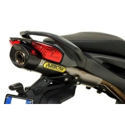EXHAUST TERMINAL ARROW MAXI RACE-TECH IN TITANIUM CARBON BACK FOR THREE 1130 K 2006/2014, APPROVED