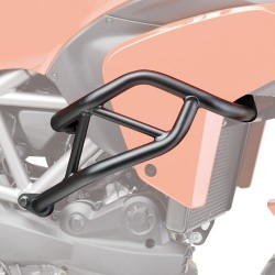 ENGINE GUARD KAPPA KN7401 FOR DUCATI MULTISTRADA 1200/S 2011/2014, BLACK COLOR