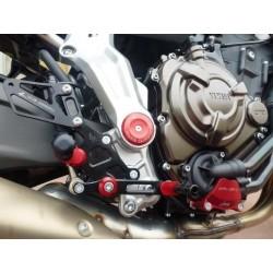 ADJUSTABLE REAR SETS 4-RACING FOR YAMAHA MT-07 2014/2020 (standard shifting)