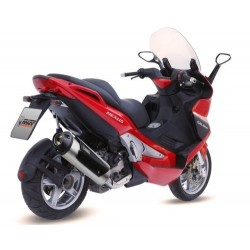 MIVV EXHAUST TERMINAL CITY RUN LINE STAINLESS STEEL APPROVED FOR GILERA NEXUS 500 2004/2013 *