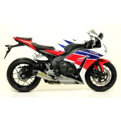 ARROW X-KONE EXHAUST TERMINAL IN STEEL CARBON BASE FOR HONDA CBR 1000 RR 2014/2016, APPROVED
