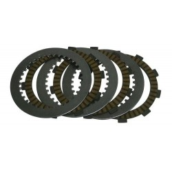 CLUTCH DISC SET GARNISHED FCC FOR KTM SX 150 2009/2015, EXC 2000/2014, SX 200 2003/2007