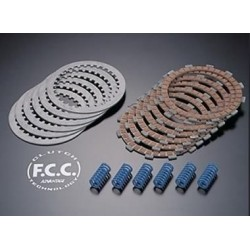 COMPLETE SET CLUTCH PLATES FCC FOR SUZUKI RM 125 2003/2008