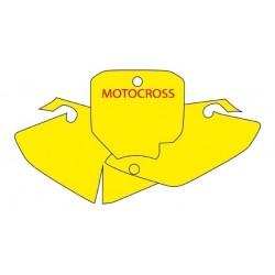 KIT ADESIVI PORTANUMERO BLACKBIRD MODELLO MOTOCROSS PER HONDA CRF 150 R 2007/2019
