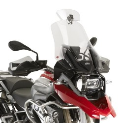 DEFLECTOR GIVI SHIELD + FOR WINDSHIELDS, TRANSPARENT