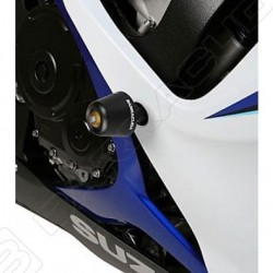 PAIR OF BARRACUDA FRAME PROTECTION PADS FOR SUZUKI GSX-R 600/750 2006/2007