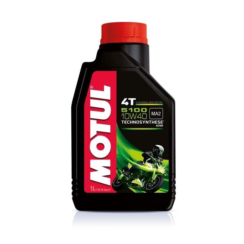 LUBRICANT OIL MOTUL 5100 10W40 FOR 4-STROKE ENGINES