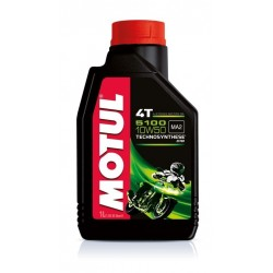 LUBRICANT OIL MOTUL 5100 10W50 FOR 4-STROKE ENGINES